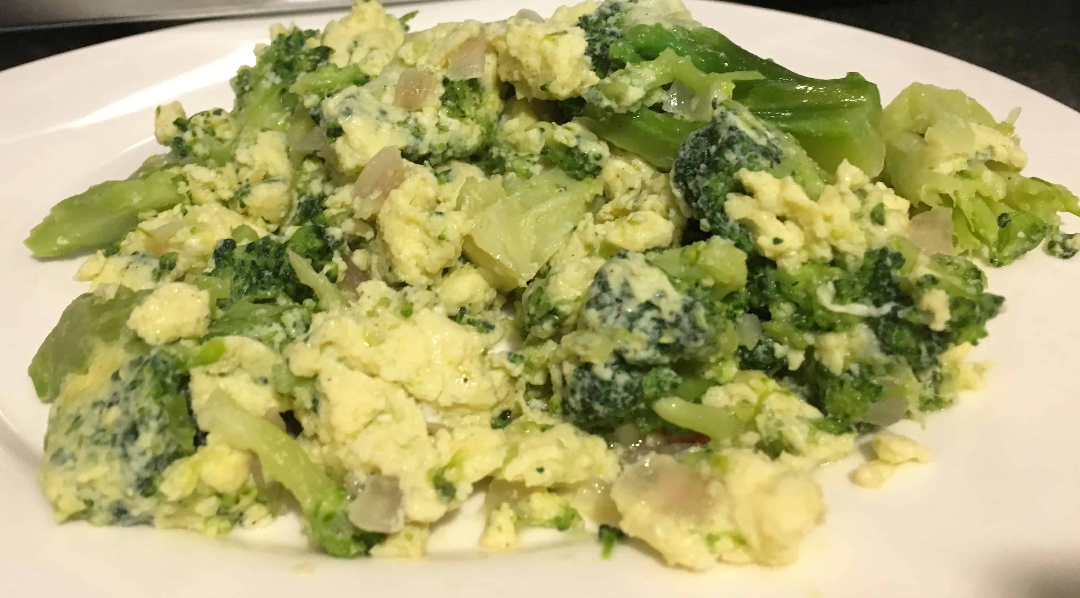 Image of Broccoli Scrambled Eggs