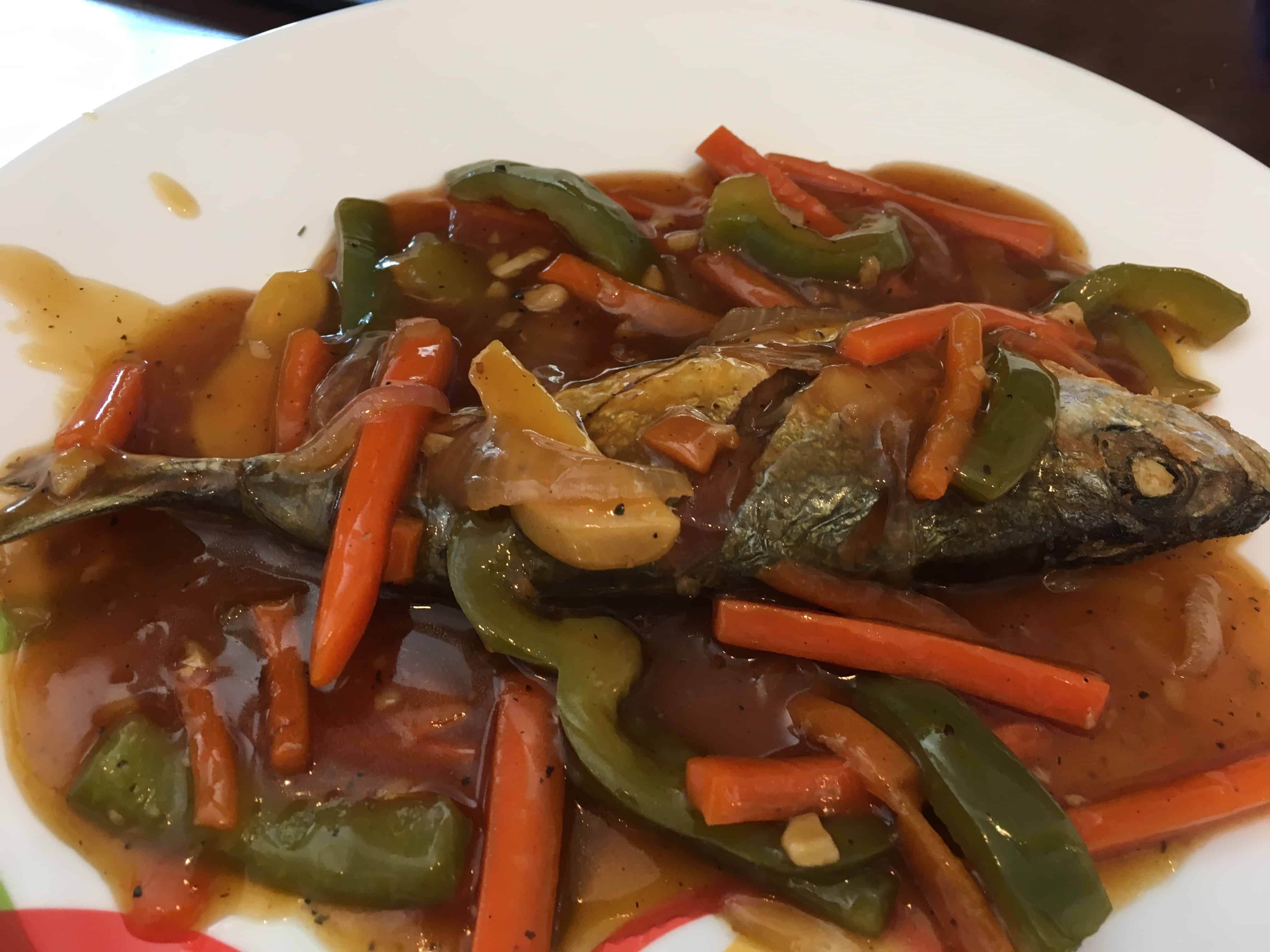 Image of Escabeche (Sweet and Sour Sauce)